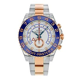 Rolex Yacht Master II 116681 Two Tone Steel Rose Gold Watch