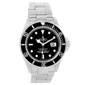 Rolex Submariner Date 16610 Stainless Steel 40mm Automatic Mens Watch