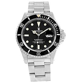 Rolex Submariner Date 16800 Vintage 40mm Mens Watch