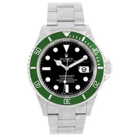 Rolex Submariner 50th Anniversary Flat 4 16610LV Stainless Steel 40mm Automatic Mens Watch