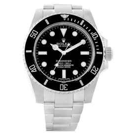 Rolex Submariner 114060 Stainless Steel and Ceramic 40mm Automatic Mens Watch