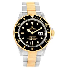 Rolex Submariner 16613 18K Yellow Gold and Stainless Steel 40mm Automatic Mens Watch