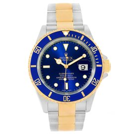 Rolex Submariner 16613 Stainless Steel and 18K Yellow Gold 40mm Automatic Mens Watch