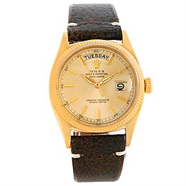 Rolex President Day-Date 6611B 18K Yellow Gold Vintage 36mm Mens Watch