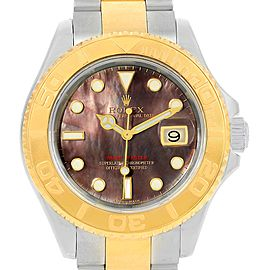 Rolex Yachtmaster 16623 Stainless Steel / 18K Yellow Gold Mother Of Pearl Dial 40mm Mens Watch