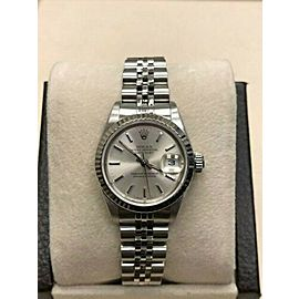 Rolex Ladies Datejust 69174 Silver Dial Stainless Steel 18K