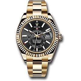 Rolex Sky-Dweller 326938BKSO 42mm Men's Watch