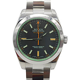 Rolex Milgauss 116400GV Stainless Steel 40mm Mens Watch
