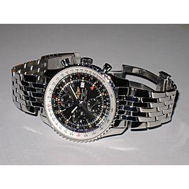 Breitling Navitimer World GMT A24322 46 mm Men's Watch