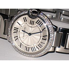 Cartier Ballon Bleu W69011Z4 36 mm Women's Watch