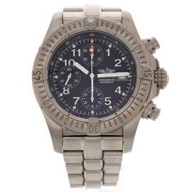 Breitling Super Avenger E13360 Titanium Automatic 44mm Mens Watch