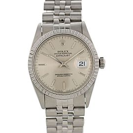 Rolex Datejust 16030 Stainless Steel/18K White Gold Automatic 36mm Unisex Watch