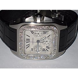 Cartier Santos 100 w200908x 42 mm Men's Watch