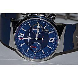 Ulysse Nardin Maxi Marine Chronograph 353-66 41 mm Men's Watch