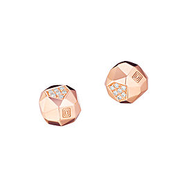 Mimi So Jackson Switch Faceted Diamond Studs