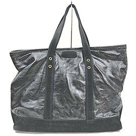 Saint Laurent Large Black Shopper Tote Bag 863098