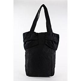 Saint Laurent YSL Logo Black Parfums Tote Bag 22ysl1229
