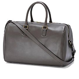 Saint Laurent Duffle 24 Hour Classic 24 Grey 5sk0109 Weekend/Travel Bag