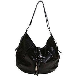 Saint Laurent Dark Brown Leather Mombasa Shoulder bag 862483