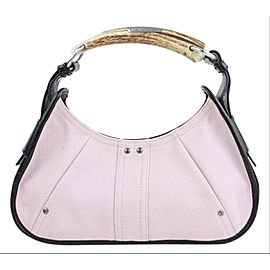 Saint Laurent Horn Handle Mombasa Pink Hobo 22MT914