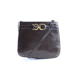 Salvatore Ferragamo Gancini Shoulder Bag 26MR0701
