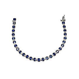 Sapphire & Diamonds, Tennis Bracelet