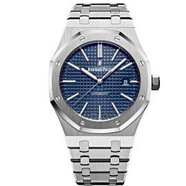 AUDEMARS PIGUET Royal Oak Blue Dial Stainless Steel Men's Watch 15400ST.OO.1220ST.03