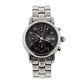 Montblanc Meisterstuck Chronograph Stainless Steel Mens Watch