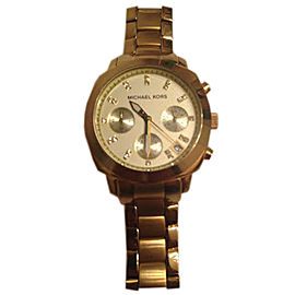 Michael Kors MK5132 Gold-Tone Stainless Steel Chronograph 37mm Watch