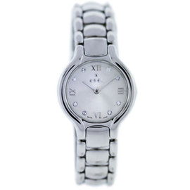 Ebel Beluga E9157421 Stainless Steel Diamond Dial 26mm Womens Watch