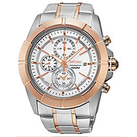 Seiko Lord Chronograph SNDE72 42mm Mens Watch
