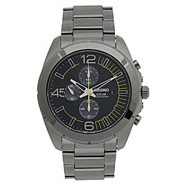 Seiko Solar Chronograph SSC217 41mm Mens Watch