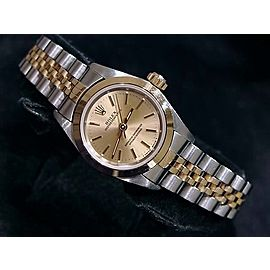 Rolex Oyster Perpetual 67183 24mm Womens Watch