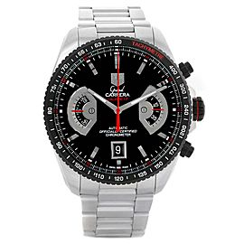 Tag Heuer Grand Carrera CAV511C Stainless Steel & Black Dial Automatic 43mm Mens Watch