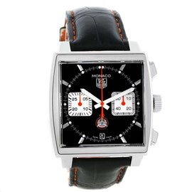 Tag Heuer Monaco CAW211K Stainless Steel Limited Edition 39mm Mens Watch