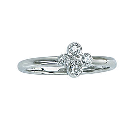 Tiffany & Co. Platinum with 0.05ct Diamond Ring Size 5.5