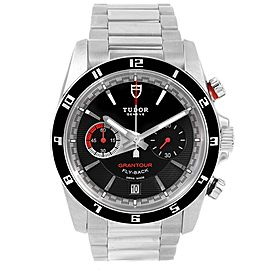 Tudor Grantour 20550N Stainless Steel Automatic 42mm Mens Watch