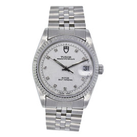 Tudor 74000 Oyster Prince Date Stainless Steel 34mm Unisex Watch