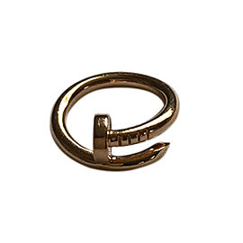 Cartier Juste un Clou Ring Rose Gold Size 4.75