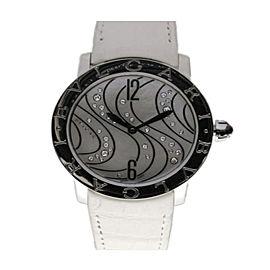 Bulgari Bulgari Steel MOP Diamonds 37mm Ladies Watch BBL37WCDSL