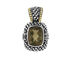 David Yurman Smokey Quartz Enhancer