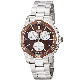 Swiss Army Chronograph 241502 36.5mm Womens Watch