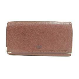 Valentino garavani Burgundy Wallet 14vk0123