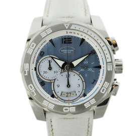 Parmigiani Pershing Stainless Steel Chronograph 45mm Mens Watch