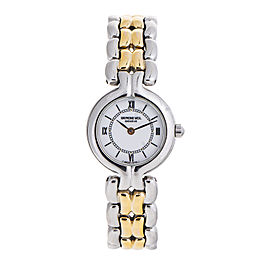 Raymond Weil 5876 Stainless Steel and Gold-Tone Quartz 22.5mm Watch