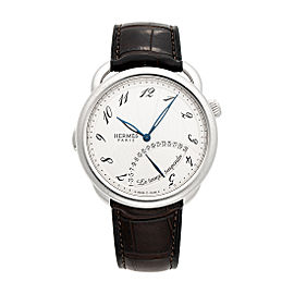 Hermes Arceau Le Temps Suspendu AR8.910 43mm Mens Watch