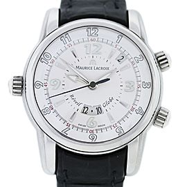 Maurice Lacroix MP6388 Reveil Globe Stainless Steel Gents Watch