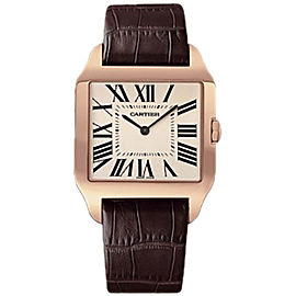 Cartier Santos Dumont W2006951 18K Rose Gold 44.6mm Manual Mens Watch