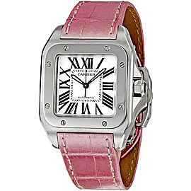 Cartier Santos 100 W20126X8 Stainless Steel 33mm Automatic Unisex Watch