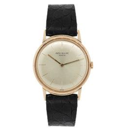 Patek Philippe Calatrava 3416 18K Rose Gold 32mm Mens Watch